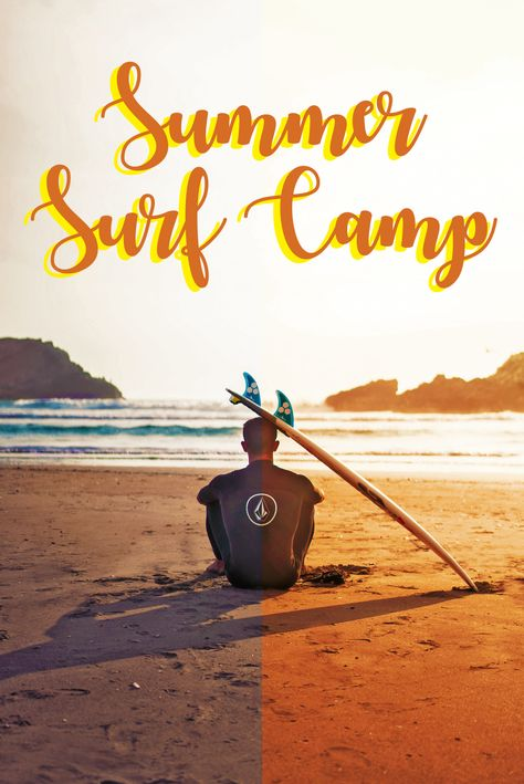 Surf camp at Europe for this summer
