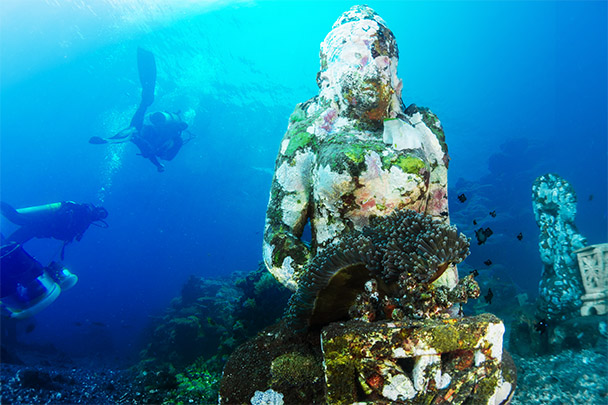 Reasons to try scuba diving holidays for beginners in Bali