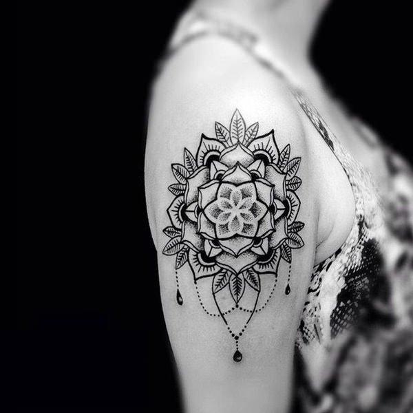 mandala tattoo in bali