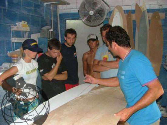 Peniche Surf School, Shaping Workshop and Surf Camp